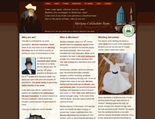 mevlana.net screenshot