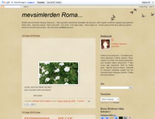 mevsimlerdenroma.blogspot.com screenshot