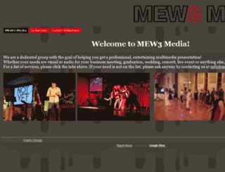 mew3media.com screenshot