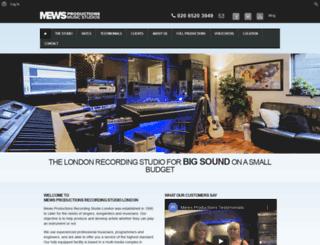 mewsproductions.com screenshot