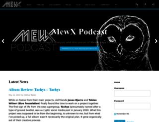 mewx.info screenshot