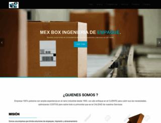 mexbox.com.mx screenshot