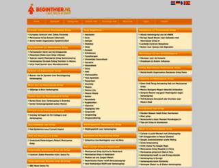 mexicaanse-griep.beginthier.nl screenshot