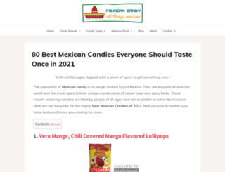 mexicancandy.org screenshot