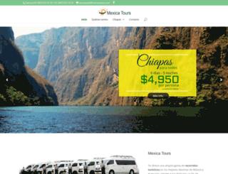 mexicatours.com screenshot