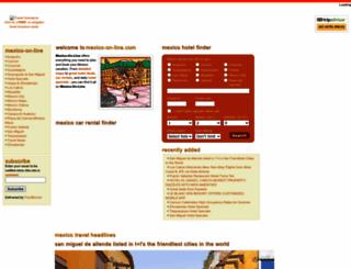 mexico-on-line.com screenshot