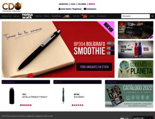 mexico.cdopromocionales.com screenshot