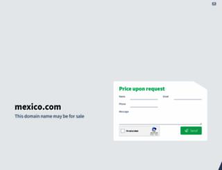 mexico.com screenshot