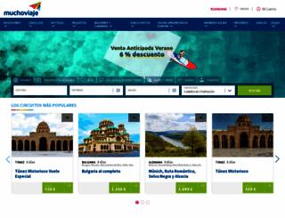 mexico.muchoviaje.com screenshot