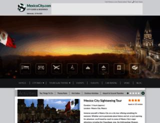 mexicocity.com screenshot