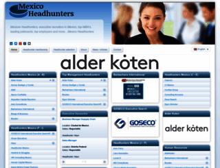 mexicoheadhunters.com screenshot