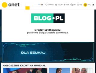 mexicola.blog.pl screenshot