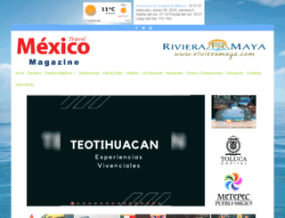 mexicotravelmagazine.com.mx screenshot