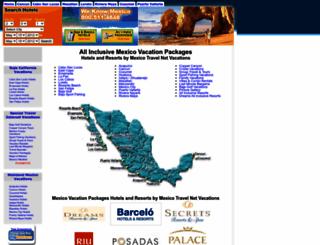 mexicotravelnet.com screenshot