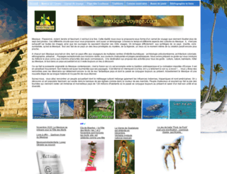 mexique-voyage.com screenshot
