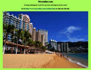 mexonline.com screenshot