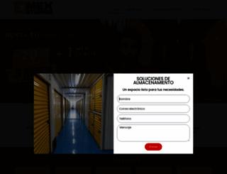 mexstorage.com.mx screenshot