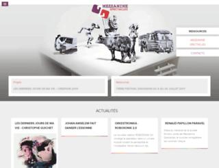 mezzaninespectacles.eu screenshot