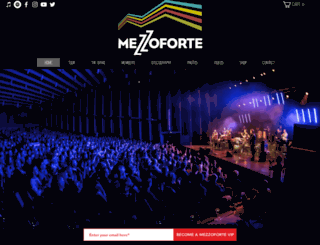 mezzoforte.com screenshot