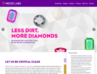 mezzolabs.co.uk screenshot
