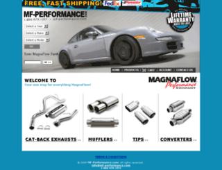 mf-performance.com screenshot