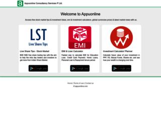 mf.appuonline.com screenshot