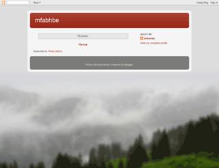 mfabhbe.blogspot.com screenshot