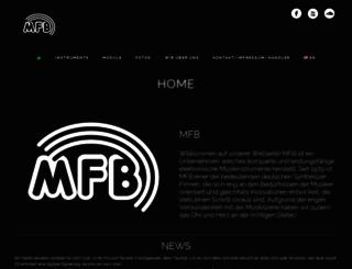 mfberlin.de screenshot