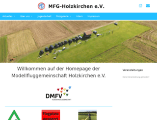 mfg-holzkirchen.de screenshot