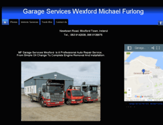mfgarageservices.com screenshot