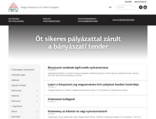 mfgi.hu screenshot
