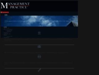 mfgovern.com screenshot