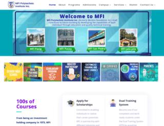 mfi.org.ph screenshot