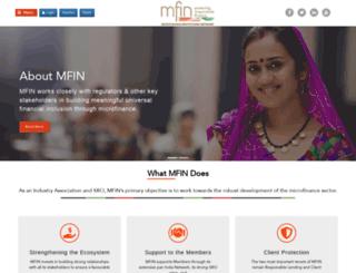 mfinindia.org screenshot