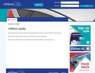 mfldirect.co.uk screenshot
