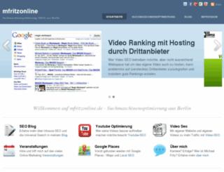 mfritzonline.de screenshot