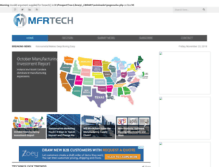 mfrtech.com screenshot