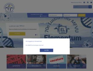 mfvu.nl screenshot