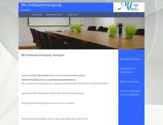 mg-reinigung.de screenshot
