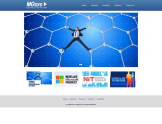 mg-sys.com screenshot