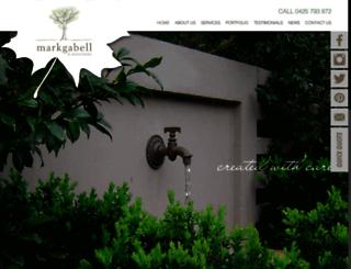 mgalandscapes.com.au screenshot