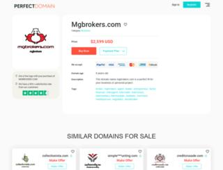 mgbrokers.com screenshot