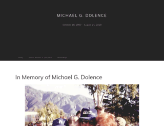 mgdolence.com screenshot