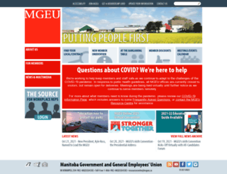 mgeu.ca screenshot