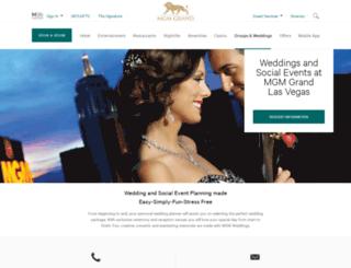 mgmgrandweddings.com screenshot