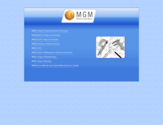 mgmmumbai.ac.in screenshot