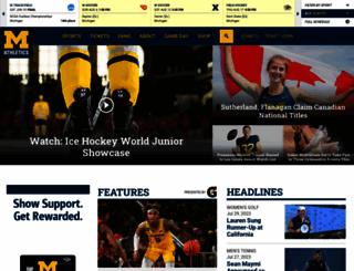 mgoblue.com screenshot