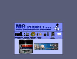 mgpromet.co.rs screenshot