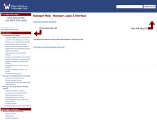 mgrhelp.when2work.com screenshot