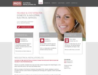 mgs-electrical.co.uk screenshot